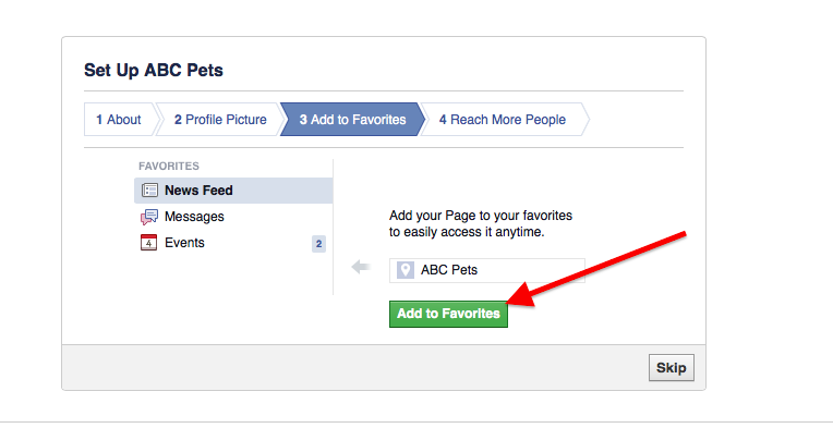 how to set up facebook memorial page